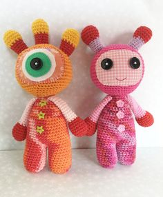 Amigurumi Toy Monsters Handmade Amigurumi Monster. by FuzzyWorld