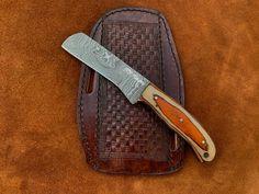 Damascus Sword, Damascus Ring, Damascus Steel, Handmade Chef Knife, Dagger Knife, Tool Steel, Folding Knives, Cutlery, Leather