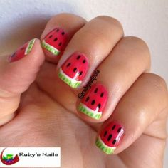 Ruby's Nails: June Nail Art Challenge, Day 18: Picnic Day