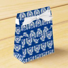 ALS Awareness Ribbon Angel Party Favor Boxes