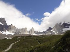 Catedral, Shark fin & Mask in Patagonia Torres del Paine National Park - Chile