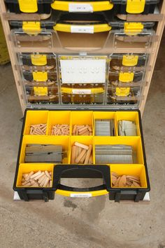 Mobile Modular Small Parts Rack PDF Plan - Inexpensive Adam Savage Style Tool…