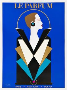 Bid in Vintage Posters Auction on Aug 27, 2020 by Swann Auction Galleries in NY Vintage Advertising Posters, Vintage Advertisements, Vintage Posters, Vintage Art, Antique Art, Art Deco Illustration, Illustrations, Art Nouveau, Parfum Paris