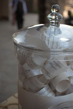 Take-A-Wish Wedding Favor Wishes for Guests