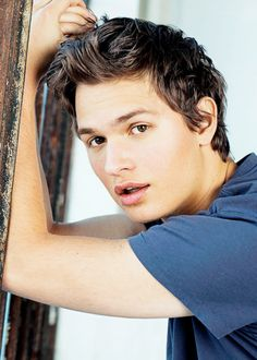 Ansel Elgort photographed by Anne Menke for Seventeen magazine (April 2015)