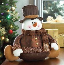 Christmas Woodland Snowman Ready to Ski Decoration Christmas Sewing, Felt Christmas, Christmas Colors, Christmas Snowman, Christmas Time, Christmas Ornaments, Frosty The Snowmen, Cute Snowman, Snowman Crafts