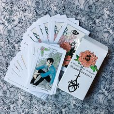 Shadowhunters Flower Cards: The Mortal Instruments