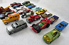 Hot Wheels Lot of 20 Loose Die Cast Toy Cars 1:64 Scale Mixed Lot #2 #HotWheels