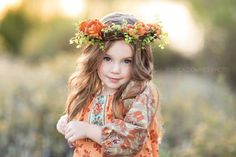 The Measure – Indian Summer Dress » jessicadowneyphoto.com #thanksgiving #fall fall floral crown