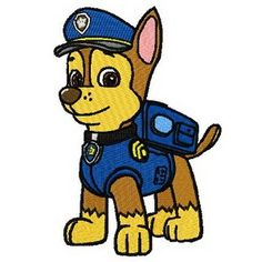 ~Paw Patrol Iron on applique can be applied to Tops, towels, bags, cd cases, pants, jackets and more...Free Shipping in the USA, World Wide Shipping Available. ~1000's of designs available, Everything from Angry Birds to Ziggy, If your do not see the design that you are after contact me I might have it! ~All Embroidered Appliques can be ordered as sew on patches or sew on appliques.