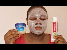 I APPLIED COLGATE TOOTHPASTE AND VASELINE ON MY FACE TO SEE WHAT HAPPENED - YouTube Vaseline For Face, Vaseline Uses, Brown Spots On Skin, Dark Spots, Home Remedies For Skin, Natural Remedies, Colgate Toothpaste, Beauty Over 40, Beauty Makeover