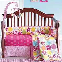 Okie Dokie® Butterfly Circles 4-pc. Bedding Set - jcpenney