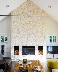 Sitting around the fireplace watching Netflix at our Flinders project would be a dream tonight. We loved working on this project, designed… Kate Walker, Fireplace Redo, Watch Netflix, Modern Coastal, New Homes, House Design, Interior, Projects, Fireplaces