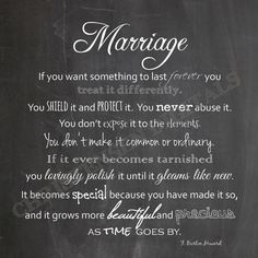 Marriage Chalkboard Printable