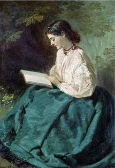 Reading, by Jerry Barrett Item 2827750 Reading Art, Woman Reading, Victorian Paintings, Books To Read For Women, Book People, World Of Books, Art Themes, Female Art, Book Lovers