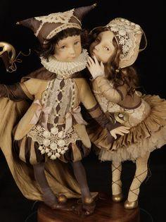 "Doll: ""The first Carnival"" (Author Tamara Pivnyuk)"