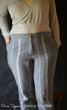 Laela Jeyne Wanderlust - Once Upon a Sewing Machine Pdf Patterns, Capsule Wardrobe, Ivy, Trousers, Pairs, Women, Fashion, Trouser Pants, Moda