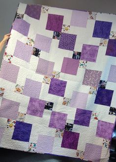 Incredible Disappearing Nine Patch Quilt