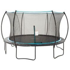14' Cirrus Round Trampoline with Enclosure #trampoline #stratos #skybound