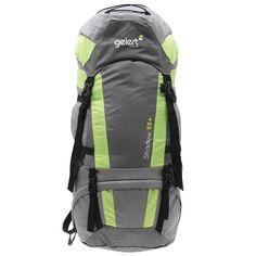 Gelert | Gelert Shadow 55 plus10L Rucksack | Rucksacks 36 euros North Face Backpack, The North Face, Backpacks, Bags, Fashion, Handbags, Moda, Fashion Styles, Backpack