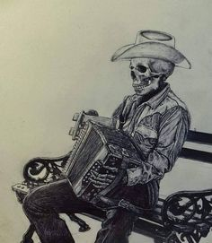 Just the things I like , old , new,strange or cool & of course , the Boss! Mexican Skull Tattoos, Mexican Skulls, Mexican Art, Indian Tattoos, Cholo Art, Chicano Art, Chicano Tattoos, Rockabilly Art, Western Saloon