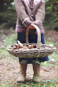 mushrooms. Fruit Basket.#Fruit Basket #Basket #Wicker Basket