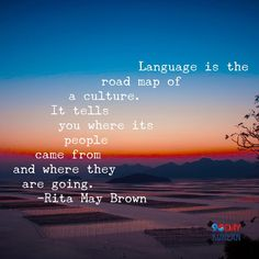"""""""Language is the road map of a culture. It tells you where its people came from where and where tehy are going."""" -Rita May Brown #learn_korean #studykorean #koreanlanguage"""