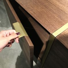 STRIPE SIDEBOARD details | marbleous x thinstone #sideboard #design #collaboration #marbleous #details