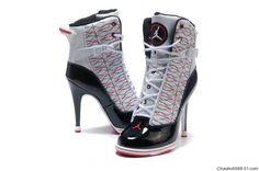 wholesale dealer 629d0 ad4a5 Samantha Jordan Heels, Jordan Sneakers, Sneaker Heels, Nike High Heels,  High Heel