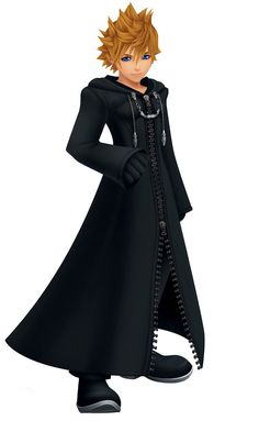 View an image titled 'Roxas Art' in our Kingdom Hearts Days art gallery featuring official character designs, concept art, and promo pictures. Kingdom Hearts Collection, Sora Kh, Roxas Kingdom Hearts, Monster High Boys, Kindom Hearts, Disney Art, Art Gallery, Character Design, Clothes