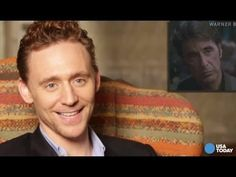 Pin for Later: 9 Stars Who Have Done Spot-On Christopher Walken Impressions Tom Hiddleston (Starts at 2:45)
