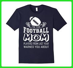 Mens I'm The Football Mom Shirt, Players From Last Year T Shirt 3XL Navy - Relatives and family shirts (*Amazon Partner-Link)
