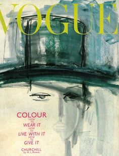 illustration: gladys perrint for vogue uk (11.1962)