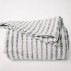 Ticking Stripe Blanket