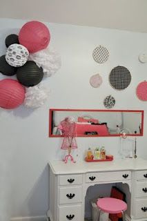nice idea for the bedroom of a girl :)