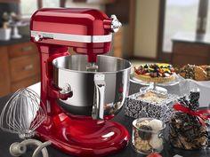 Aktion: KitchenAid Küchenmaschine in der Sonderfarbe Liebesapfel-Rot ...