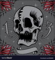 Výsledek obrázku pro old school skull