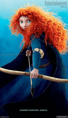 Brave Pixar: Went to see it last night and it's fantastic.  Although if I'm ever out in the woods and see creepy blue fog clouds, I'm probably not going to follow them especially if they talk!