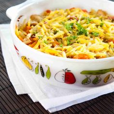 Macaroni And Cheese, Nom Nom, Food And Drink, Dinner, Ethnic Recipes, Koti, Waiting, Red Peppers, Dining
