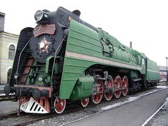 The last steam locomotive built in Soviet Union (1956 )
