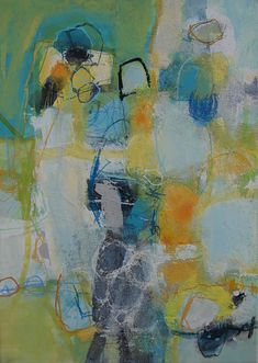 Abstrakte Kunst von Iris Rickart / Unikatbild 242