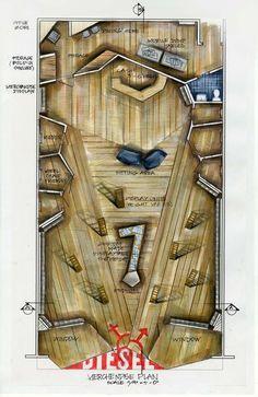 Wonderful floor plan of Diesel store - ******** -