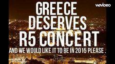 Greece loves R5 - R5 family Greece