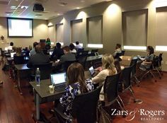 Some of our agents in our Zars & Rogers Realtors policy and procedures class today. Zars & Rogers Realtots