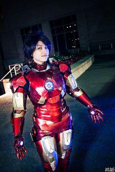 Iron Man #genderbent #Otakuthon2013 - Kimmy This is really good!!