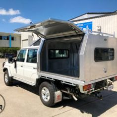 Aluminium Ute Canopies | Tong Metal & Pin by CVS - Commercial Vehicle Solutions on Ute Canopies ...