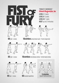 Fist of Fury Workout Darebee Boxing Training Workout, Mma Workout, Kickboxing Workout, Muay Thai Training, Mma Training, Martial Arts Workout, Martial Arts Training, Fitness Workouts, Body Workouts