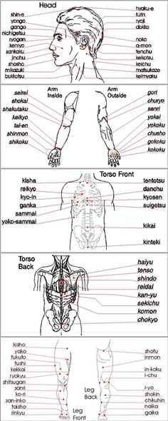 Shorinji Kempo - Kyusho 'Pressure Points'. Anatomical awareness is key to targeting.