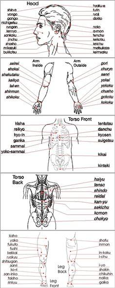 Shorinji Kempo - Kyusho 'Pressure Points'. Anatomical awareness is key to targeting.
