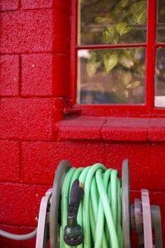 Paint outdoor cinder block wall ideas decorative - Interior cinder block wall ideas ...